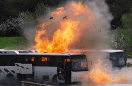 保加利亚警方重现爆炸