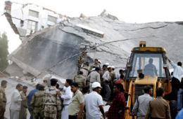 印度博帕尔医院发生坍塌