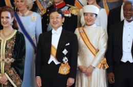 日皇太子携患抑郁症太子妃出席荷兰国王加冕典礼