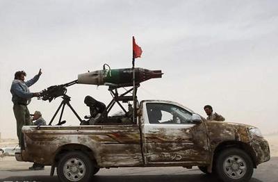 利比亚战争皮卡玩出了花