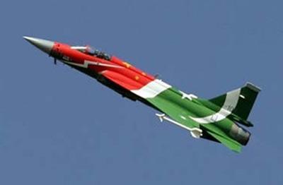 枭龙战机保卫了巴基斯坦的领空