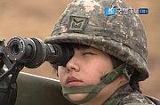 韩女兵火箭筒火炮榴弹枪都能玩