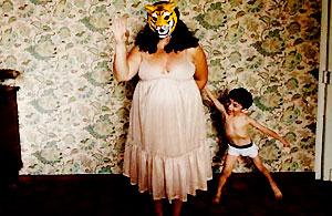 人像摄影:另类母与子