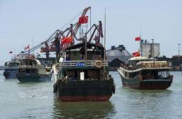 32渔船编队起航赴南沙