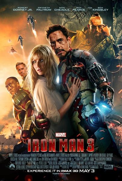 钢铁侠3 票房登顶 或成最快破十亿电影 高清图片