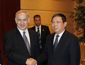 以色列总理参观上海犹太难民纪念馆