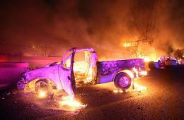 墨西哥油罐车爆炸18死