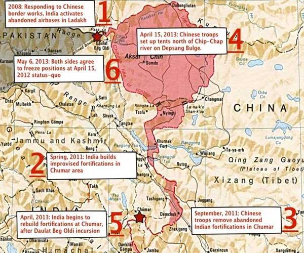 天南河谷中印对峙的背后图片