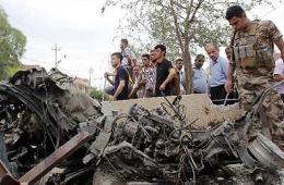 伊拉克爆炸致50余死伤