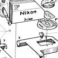 尼康经典胶片单反精密分解图