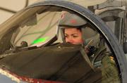 美空军F-15E女飞行员官至大校