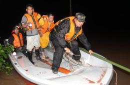 湖南醴陵遭遇50年一遇暴雨袭击 转移600余人