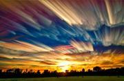 风光摄影:油画棒的彩绘天空