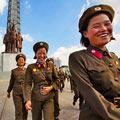 法摄影师拍朝鲜士兵休闲生活