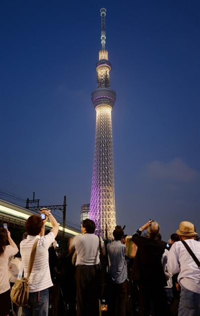 东京晴空塔开业一周年