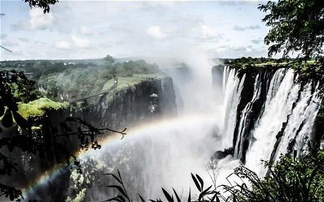 社会资讯_走近非洲瀑布奇观——维多利亚大瀑布_旅游_环球网