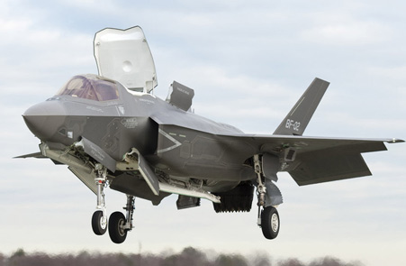 替代英国鹞式战机的是美国的F-35