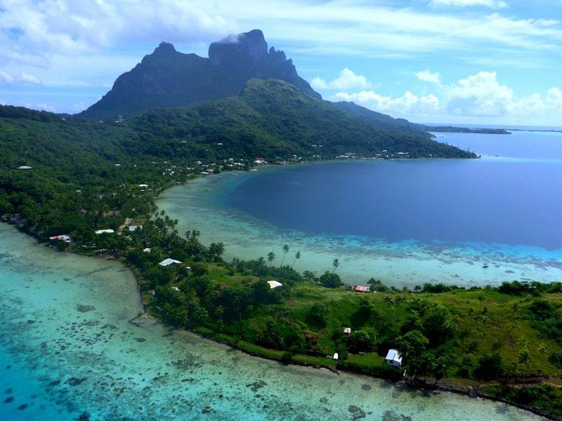 波拉波拉岛 享受无与伦比的美