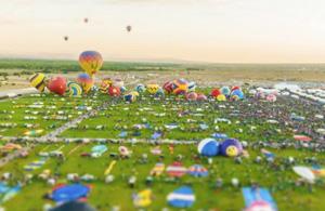 风光摄影:地球是个玩具城