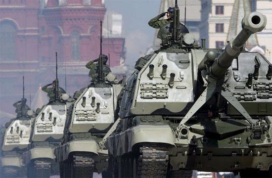 俄罗斯陆军实力不弱