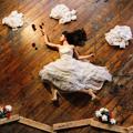 创意婚纱照:飞翔的新娘