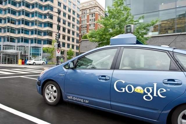 谷歌无人驾驶车高清图片