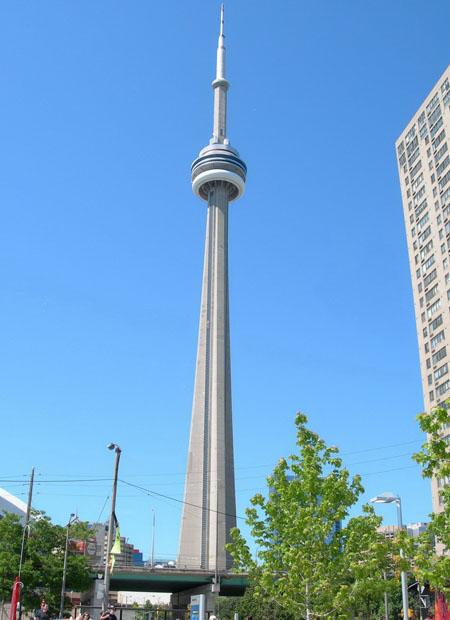 社会资讯_走进加拿大国家电视塔 俯瞰多伦多美景_旅游_环球网