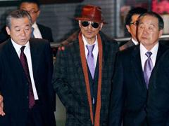 蒋述日本:日政府险颁奖给黑老大之子