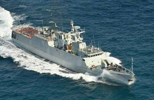 中国海军056轻型护卫舰专为南海打造