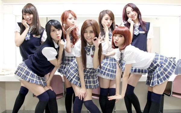 台湾美少女团体天气女孩走红日本
