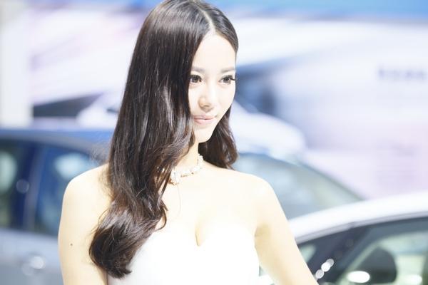 2013重庆车展靓丽车模第二季 高清图片