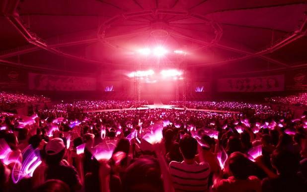 少女时代首尔开唱 粉丝打造粉色海洋