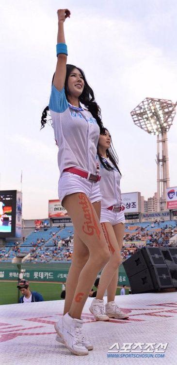 诱惑 韩国 棒球/韩国棒球女郎热裤劲舞(16/40)