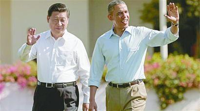 国家主席习近平和美国总统奥巴马会面的珍贵相片。【图片转载】 - kkk20088 - kkk20088的博客