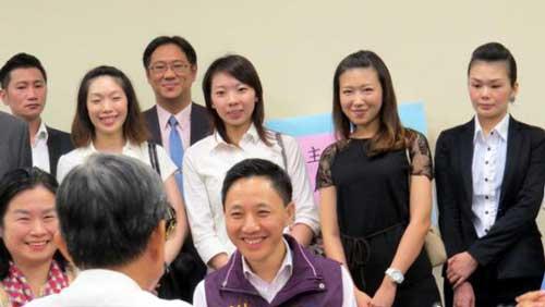 参选国民党主席 谢坤宏:不能封杀合法候选人