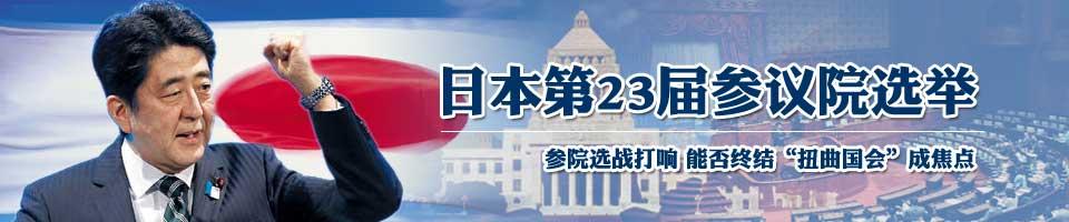 日本参议院选举
