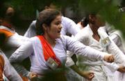 印度女子苦练自卫术防强奸
