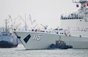 俄罗斯镜头下的中国海军