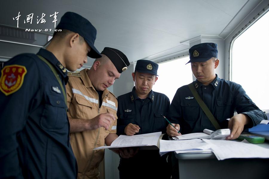张群/我军直/9与俄巡洋舰并肩反潜(23/23)