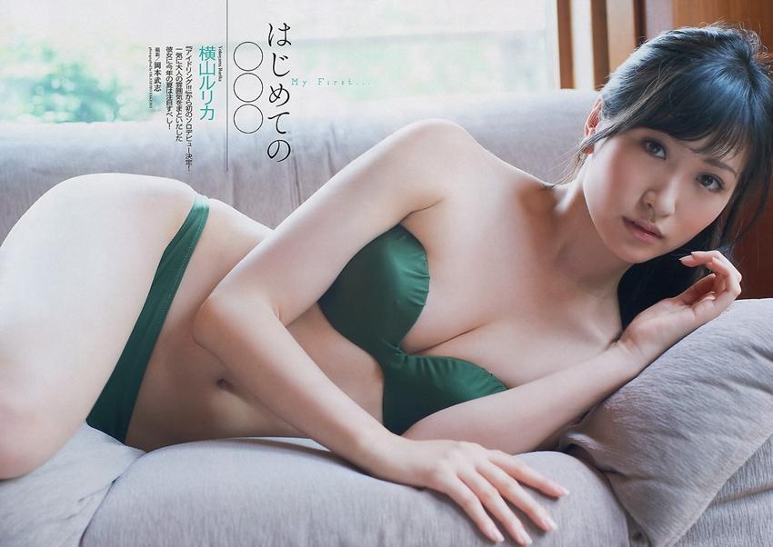 横山琉璃香横山みれい日本90后美女比基尼日本美女