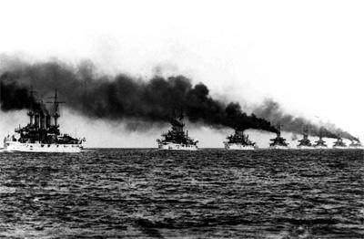 美国大白舰队让世界震撼