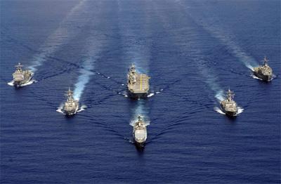 美国海军稳坐世界海军头把交椅
