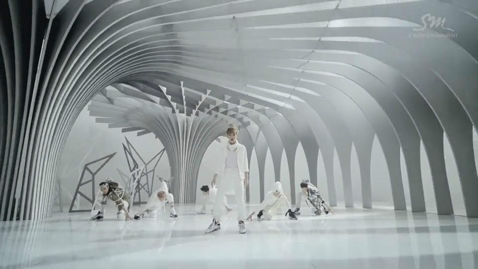 exo的《狼与美女》舞蹈版mv