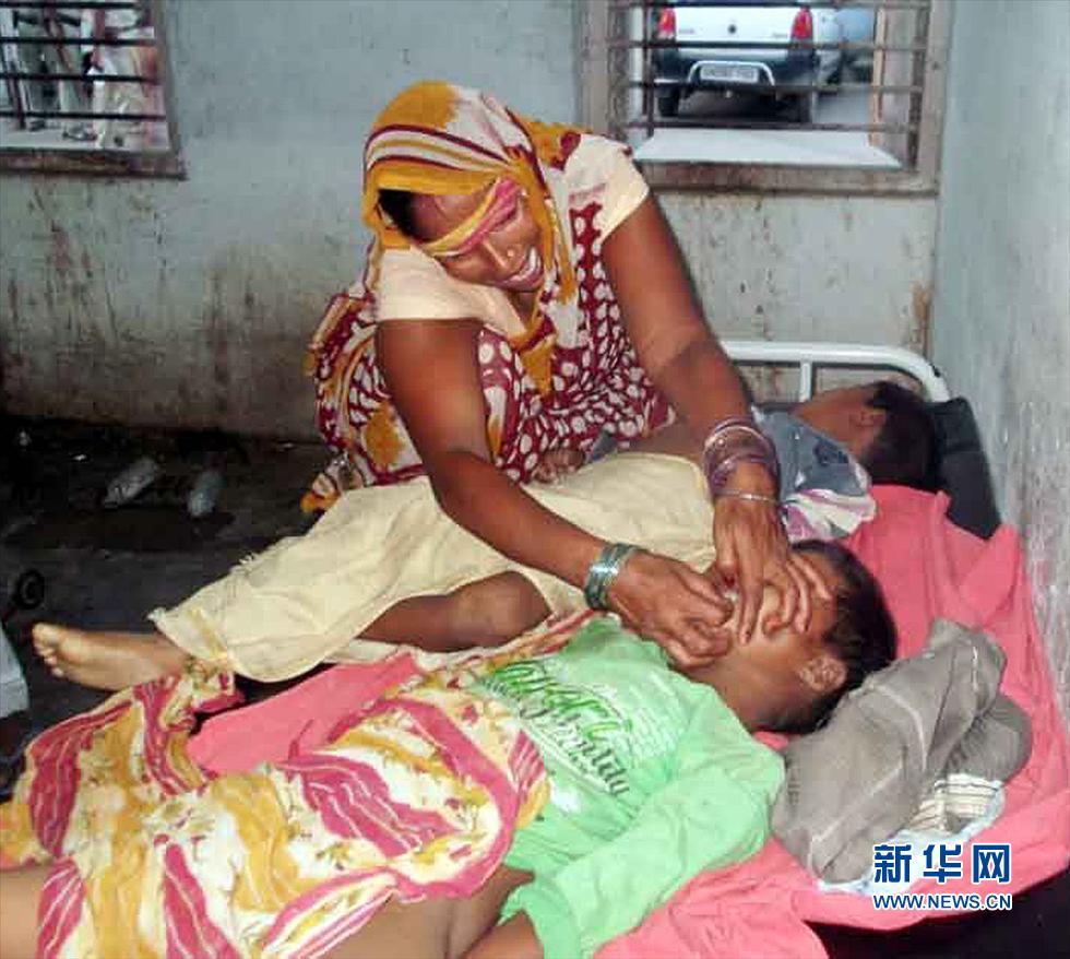 印度小学生儿童食物中毒20集体入院30人死亡光明小学德州图片