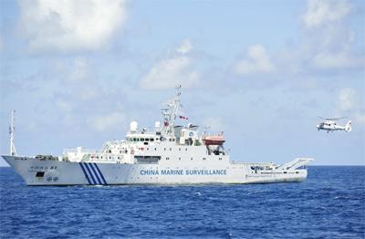 中国海监实力逐渐提升