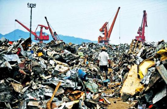 全球电子垃圾 毁了中国环境