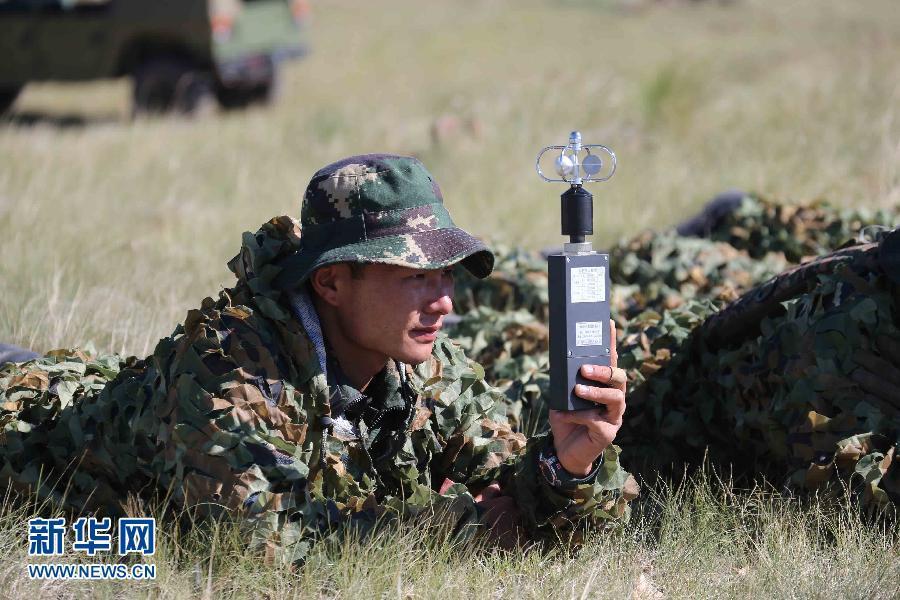 为期7天的全军特种部队比武竞赛陆上比武课目在北京军区朱日和训