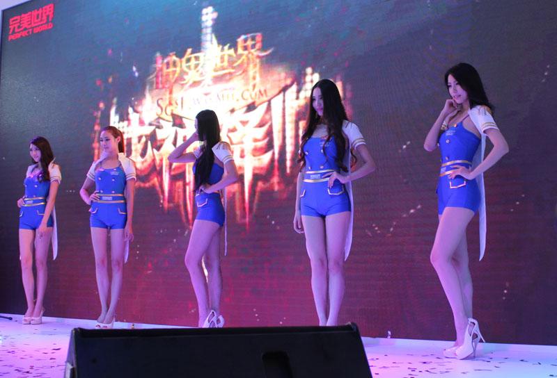 第11届chinajoy动漫游戏展上海开幕