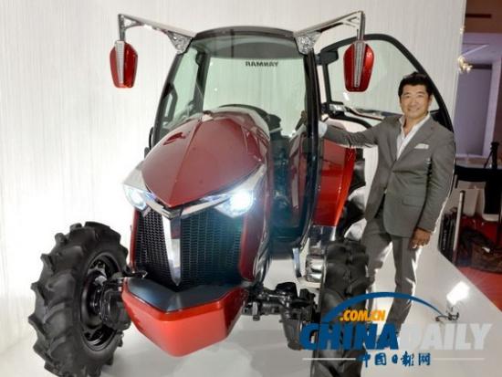 日打造出新型拖拉机设计师曾为法拉利设计车阳台家装设计