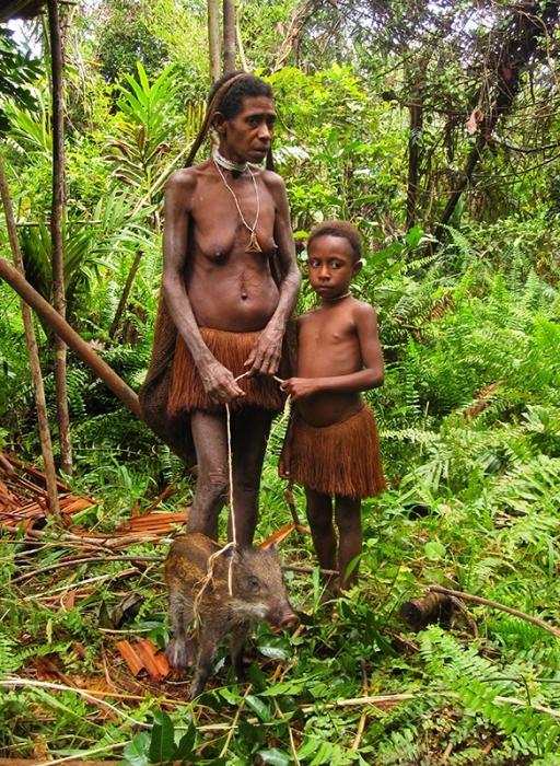女人 新几内亚岛/探访新几内亚岛食人族:女人地位不如猪(组图)